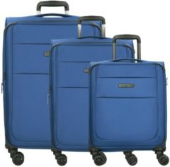 Epic DiscoveryAIR ULTRA 4-Rollen-Trolley Kofferset 3-tlg. 77 cm pacificBLUE