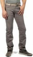 Grijze Alexander Maskovick Maskovick Heren Clinton Twill stretch Regular - Kleur: Grey - Maat: 34/30