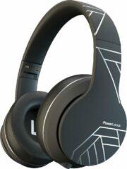 PowerLocus P6 - draadloze Over-Ear Koptelefoon Inklapbaar - Bluetooth Hoofdtelefoon - Met microfoon - Zwart/Zilver