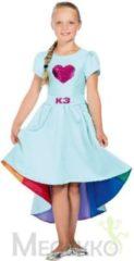 Blauwe Studio 100 K3 jurkje Verkleedjurk Nieuw Love Cruise maat 134