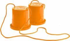 Lena loopklossen oranje 18 cm
