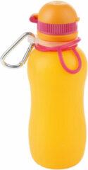 Zielonka Viv Bottle 3.0 - Opvouwbare Siliconen Drinkfles / Bidon - Oranje - 1500ML