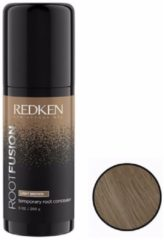 Redken - Root Fusion - Temporary Root Concealer - Light Brown - 75 ml