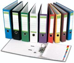 Pergamy ordner, voor ft A4, uit Recycolor papier, rug van 8 cm, groen