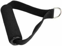 DW4Trading® Nylon strap handle met D-ring zwart