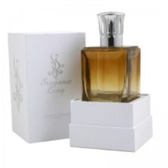 Zilveren Ashleigh & Burwood Obsidian Fragrance Lamp Amber Clear