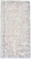 Perezvloerkleden.nl BOTERO - hoogpool - vloerkleed - 110 x 60 cm - wit