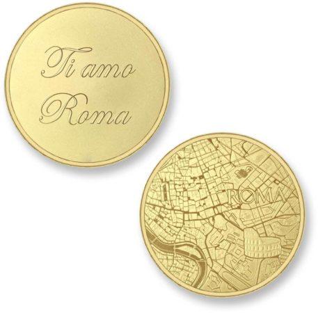 Afbeelding van Gouden Mi Moneda Del Mundo - Rome gold Del Mundo - Rome gold munt