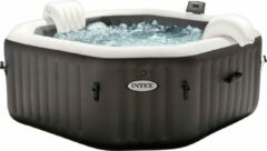 Witte Intex Pure Spa Jet & Bubble Deluxe 4p - Ø 201 cm