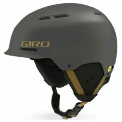 Giro Trig Mips Matte Metallic Coal/Tan Skihelm - Metallic Coal - Unisex - Maat S