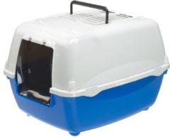 Ferplast Kattentoilet Bella 55x40.5x39 cm - Kattenbak - Blauw