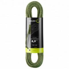 Edelrid - Swift Protect Pro Dry 8,9 - Enkeltouw maat 50 m, zwart/olijfgroen/grijs