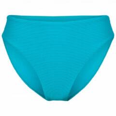 Seafolly - Women's Essentials High Rise - Bikinibroekje maat 10, beige/turkoois