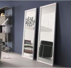 Pezzani srl Specchiera rettangolare da terra cornice in alluminio verniciato RIFLESSO 60x170