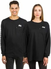 Rip N Dip Lord Nermal Pocket Long Sleeve T-Shirt zwart