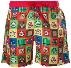 Nintendo - Icons Super Mario heren zwembroek multicolours - Games merchandise - L