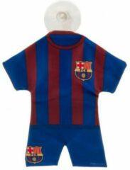 Bordeauxrode FC Barcelona mini kit - 18 cm - blauw/bordeaux