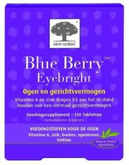 New Nordic Blue berry eyebright 120 Tabletten