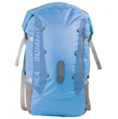 Blauwe Sea to Summit - Flow 35 Drypack maat 35 l grijs/blauw