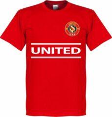 Retake Manchester United Team T-Shirt - Rood - XS