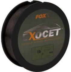 Kaki Fox Exocet Mono - Trans Khaki - Nylon Vislijn - 13lb - 0.309mm - Khaki