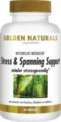 Golden Naturals Stress & Spanning Support (60 vegetarische capsules)