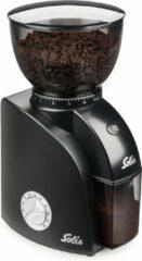 Zwarte Solis Scala Plus Zero Static grinder - koffiemaler elektrisch