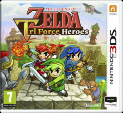 Nintendo The Legend Of Zelda: Tri Force Heroes (3DS)