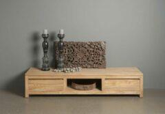Bruine Teakea Corona | Teak TV meubel | 180x50x37