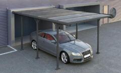Van Kooten Tuin en Buitenleven Metalen Carport Andy B 313x502 cm