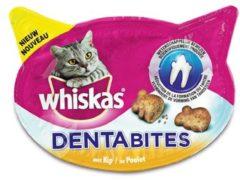 Whiskas Dentabites - Kattensnack - Dental 40 g - Kattenvoer