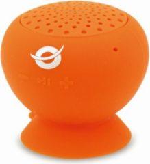 Conceptronic wasserdichte Saugnapf-Lautsprecher orange