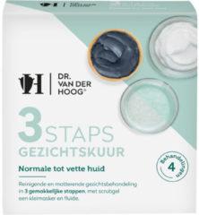 Dr Van der Hoog Dr Vd Hoog 3staps Gezichtskuur Normaal Tot Vette Huid (3st)