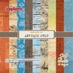 """Scrapberry's: Antique Shop Paper Collection Set 6*6"""" (SCB220606008)"""