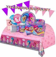 Shimmer & Shine Shimmer and Shine feestpakket - voordeelpakket Deluxe 8 kinderen