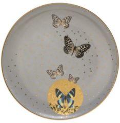 Grey Butterflies Frühstücksteller Artis Orbis Goebel Bunt
