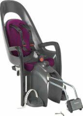 Hamax - Caress with Lockable Bracket - Kinderzitje fiets grijs/zwart