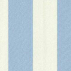 Lichtblauwe Acrisol Creta Celeste 1157 wit licht blauw gestreept stof per meter buitenstoffen, tuinkussens, palletkussens