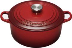 Rode Le Creuset Braadpan - Ø 34 cm - Rood