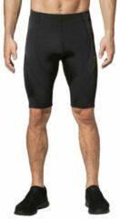 Zwarte CW-X Stabilyx Compressiebroek kort met heup, rug en knie ondersteuning - heren - maat L