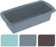 Blauwe Jumbo Siliconen Cake Bakvorm 27x14x7cm