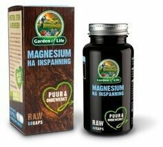 Garden of Life Raw Magnesium Na Inspanning Capsules 60st