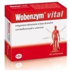 Named Wobenzym vital integratore di enzimi con bioflavonoidi e vitamine 40 compresse