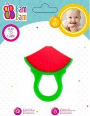 BamBam Bijtring Watergel Gevuld – Fruit Bijtring – Koelbijtring – Baby – Watermeloen