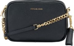 Zwarte Michael Kors Ginny Camera Bag crossbody tas black