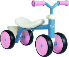 Blauwe SMOBY ROOKIE RIDE ON PINK