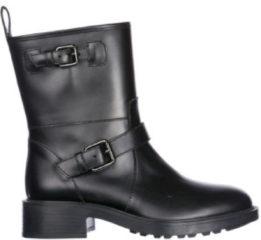 Nero Hogan Stivaletti stivali donna in pelle