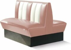 Roze Bel Air Dinerbank Double Booth HW-120DB Dusty Rose