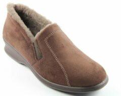 Rohde 2516 - Dames Dames pantoffels - Kleur: Bruin - Maat: 37.5