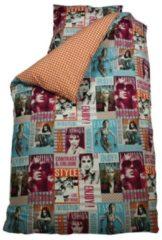 BINK Bedding Fashion dekbedovertrek - 100% katoen - Junior (120x150 cm + 1 sloop) - 1 stuk (60x70 cm) - Roze, Multi